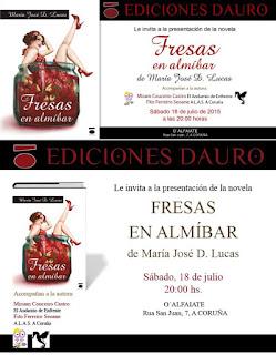 Fresas en Almíbar, ediciones Dauro
