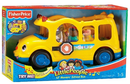 Best Toy Sale 2012: Fisher Price Little People Lil\' Movers School Bus