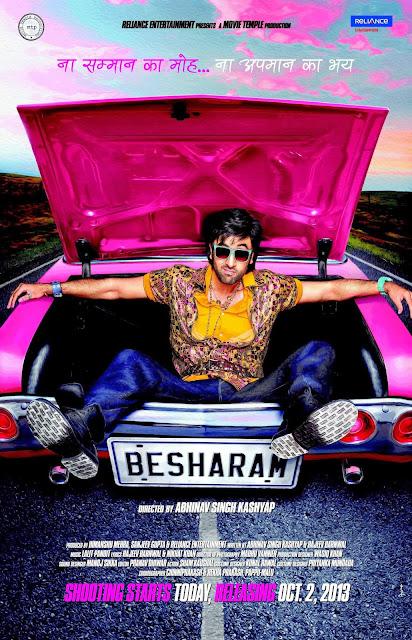 Besharam (2013) Watch Full Hindi Movie Online