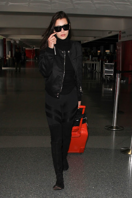Fashion Model, @ Bella Hadid at LAX