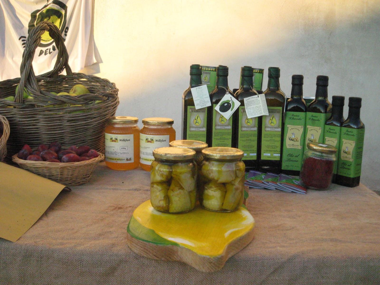 Maremma food Tuscan Olive oil saffron artichokes Tuscany