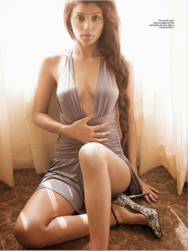 Actress Deepal Shaw Spicy Stills For Maxim Magazine