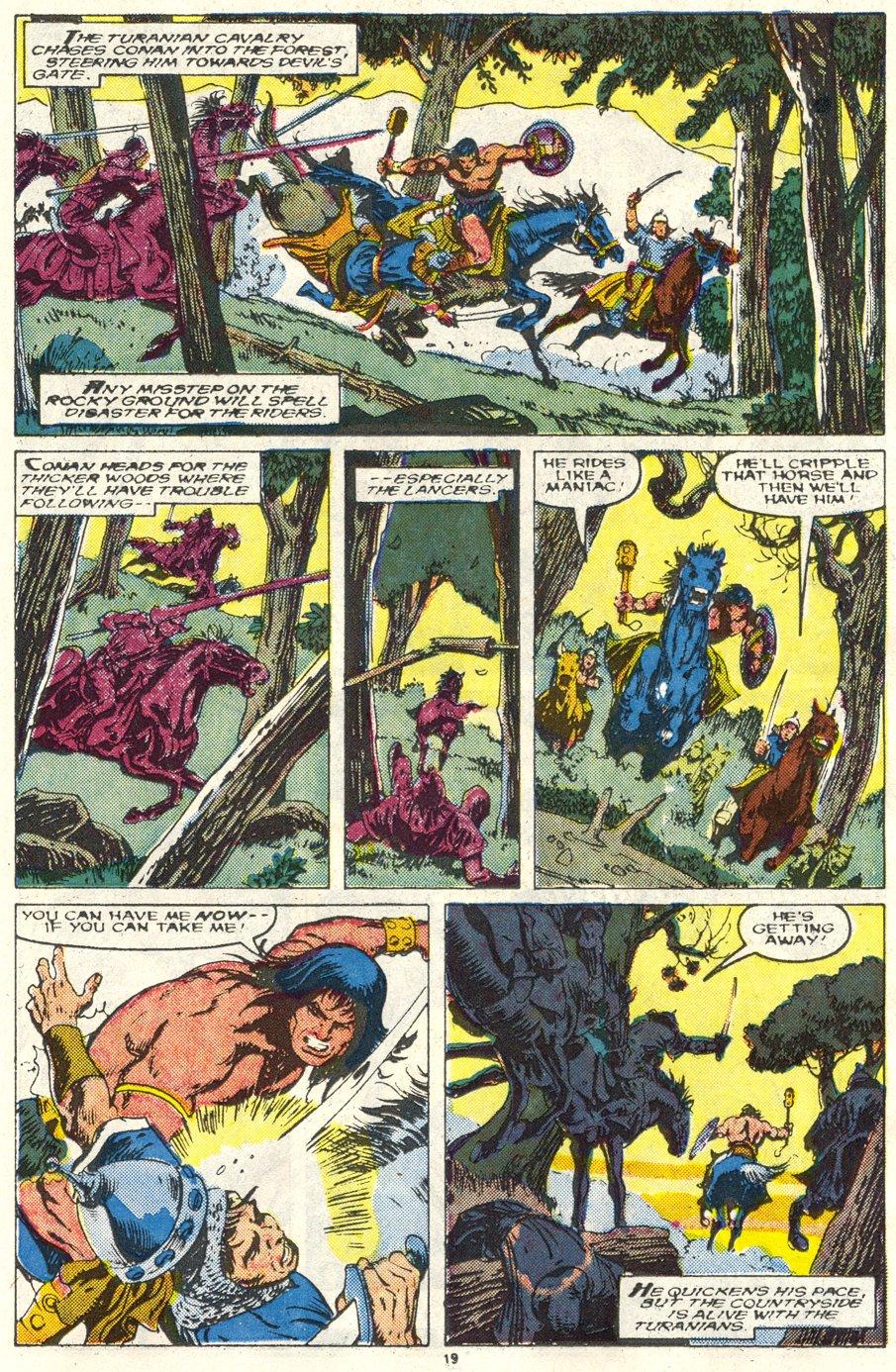 Conan the Barbarian (1970) Issue #219 #231 - English 16