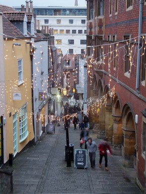 bristol christmas steps