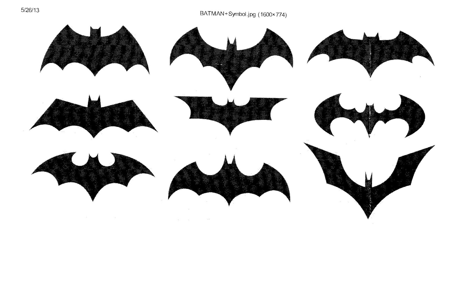 Bob 39 s jobs for How to draw a small bat