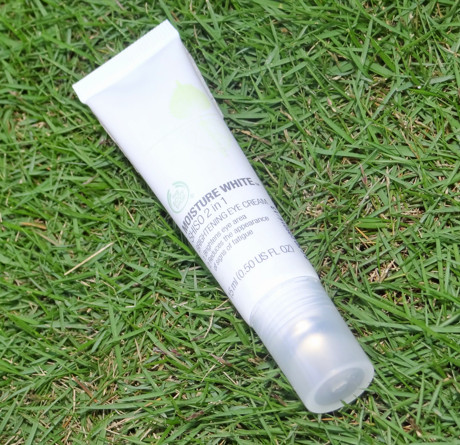 The Body Shop Moisture White Shiso 2 in 1 Brightening Eye Cream - Review