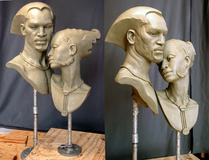 Mark Newman 1962 | American Figurative sculptor