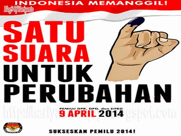 Radiogram KPU Waspada Coblos Caleg Pada Tanggal 9 April Beresiko Dipenjara