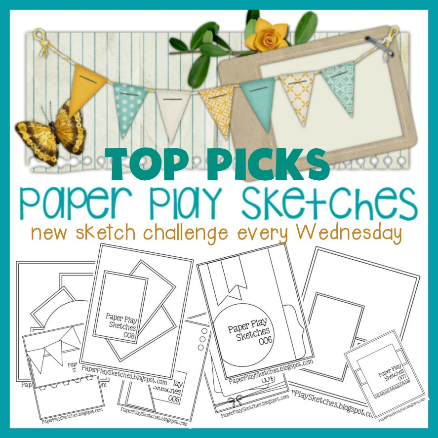 Top Pick! bij Paper Play Sketches