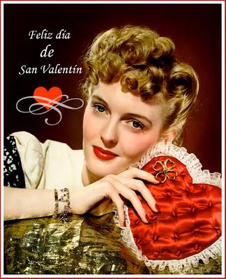foto de chica retro para San Valentín