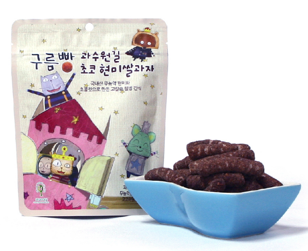 Cloud Bread's Chocolate Flavor Brown Rice Cookies