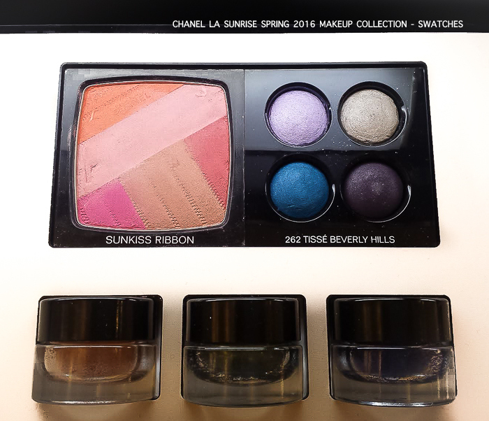 Chanel LA Sunrise Spring 2016 Makeup Collection Photos Swatches