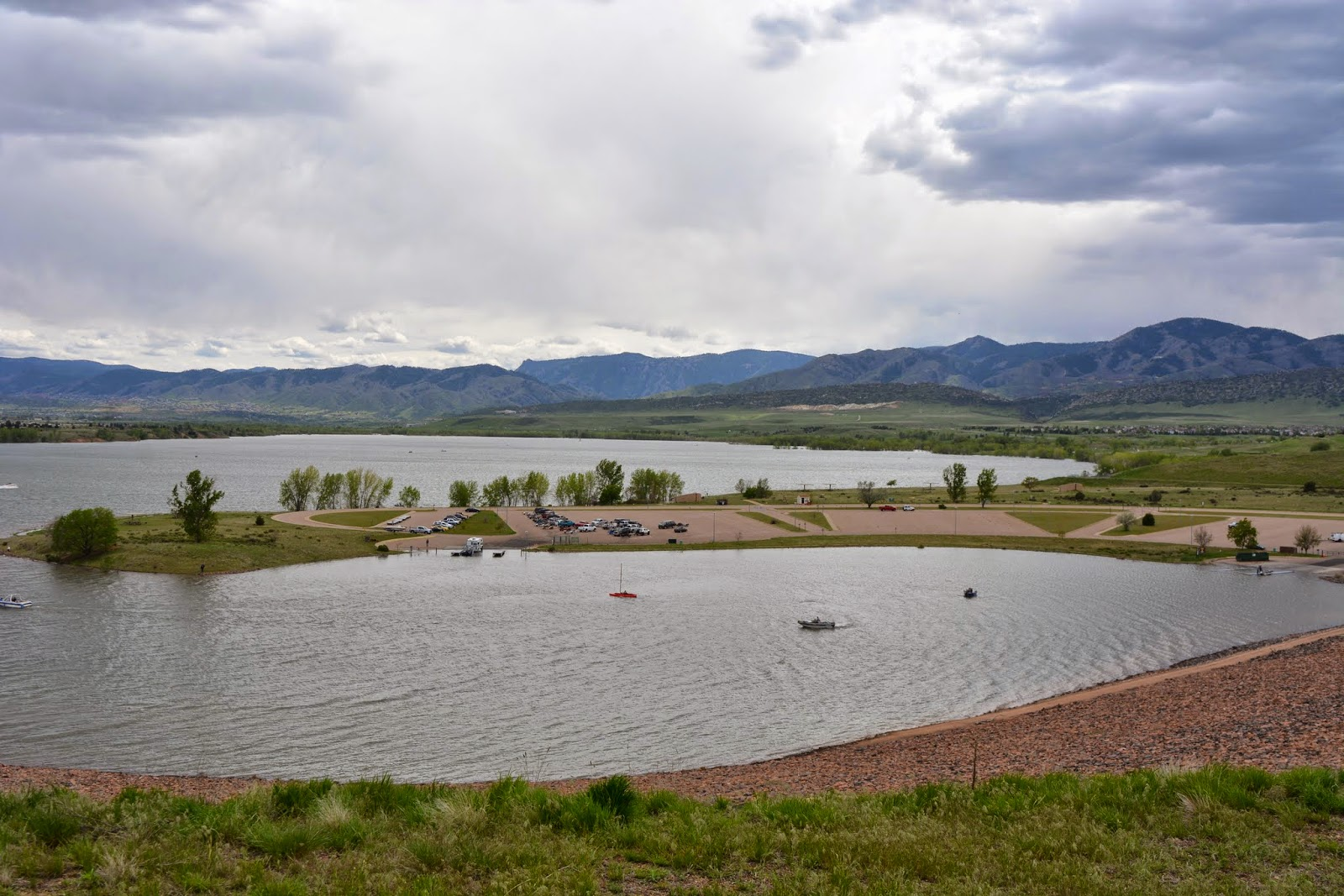 Mille fiori favoriti flood at chatfield reservoir in for Chatfield reservoir fishing