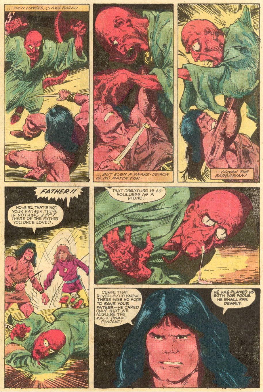 Conan the Barbarian (1970) Issue #139 #151 - English 5