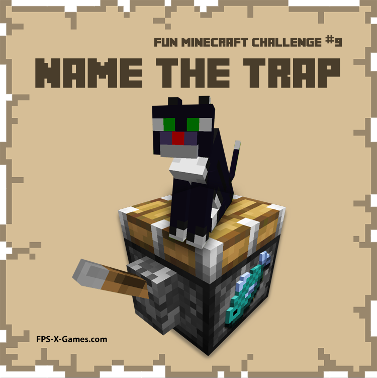 Fun Minecraft Challenge No9 - Name the Trap