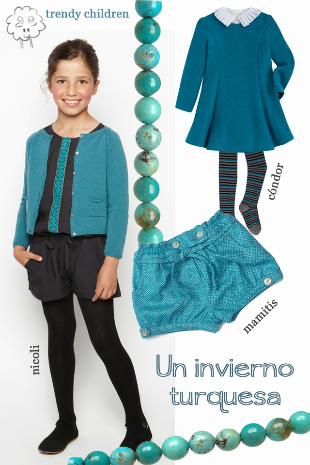 tendencias moda infantil trendy children invierno 2014