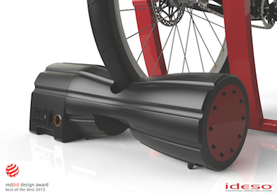 http://bicycledesign.net/2012/11/powerpac-a-pedal-powered-charging-unit-by-ideso/
