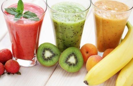 Smoothies, batidos refrescantes para verano, bebidas refrescantes para verano, batidos de frutas