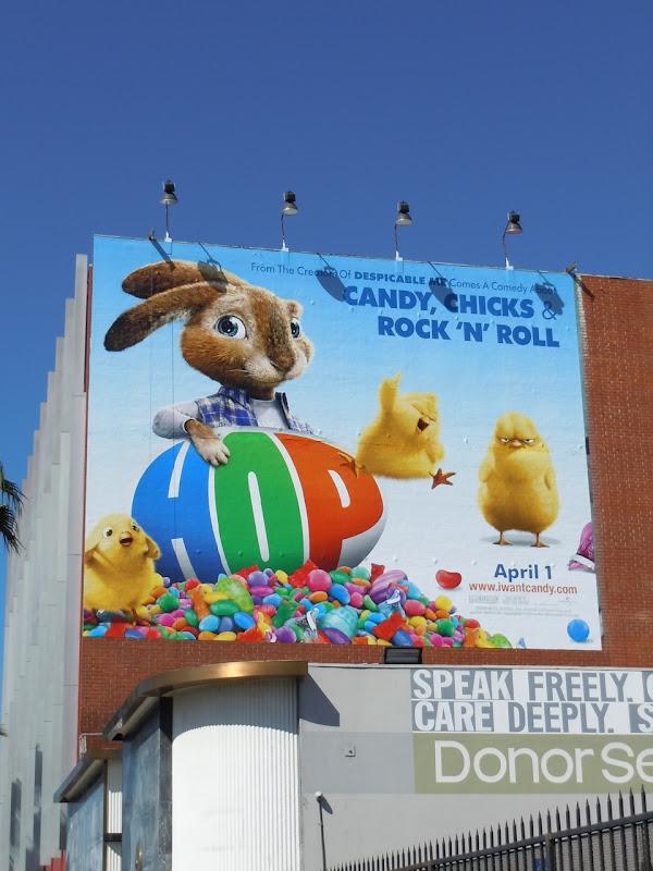 Hop film billboard