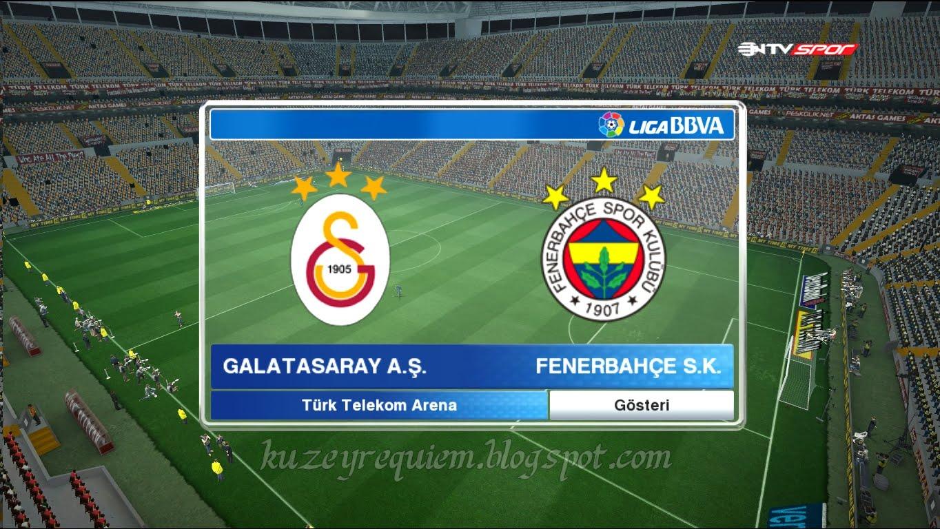 Pes 2013 Galatasaray Türk Telekom Arena Stadyum yaması