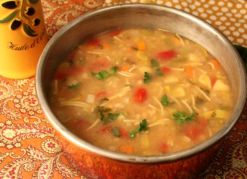 Provencal Vegetable Soup (Soupe au Pistou) - Lake Lure ...