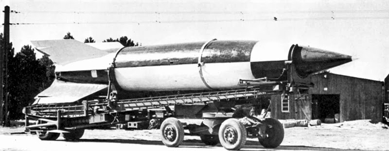 An Assembled German V2 Rocket(Courtesy: wikimedia )