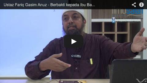Ustaz Fariq Gasim Anuz – Berbakti kepada Ibu Bapa yang Jauh dari Agama