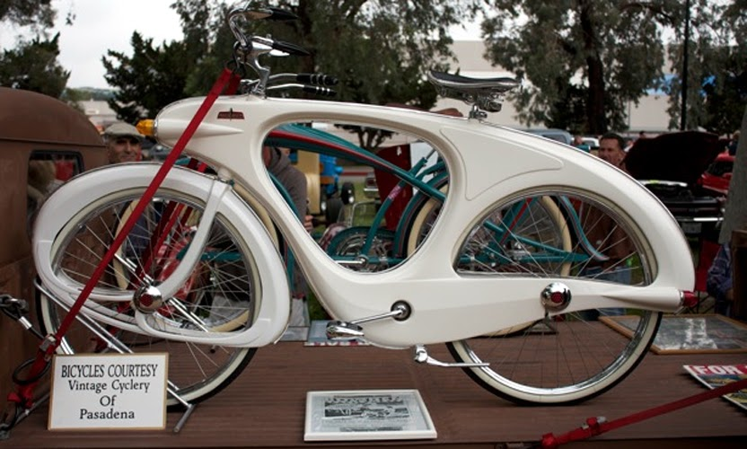 Just A Car Guy The 1948 Bowden Spacelander Bicycle Made Of