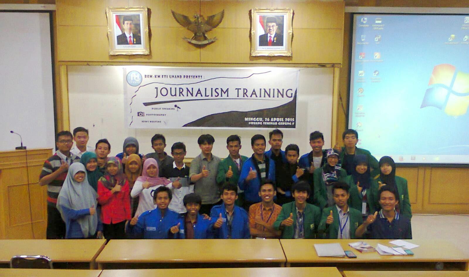 BEM FTI Unand Gelar Pelatihan Jurnalistik