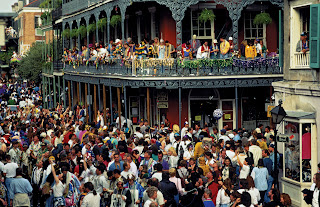 packed Bourbon St.