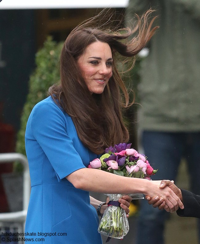 Duchess Kate Updated Kate Marks Valentines Day at Northolt High