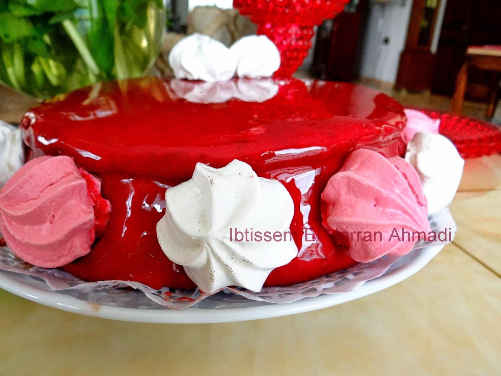D lices et caprices g teau nounou for Glacage miroir rose