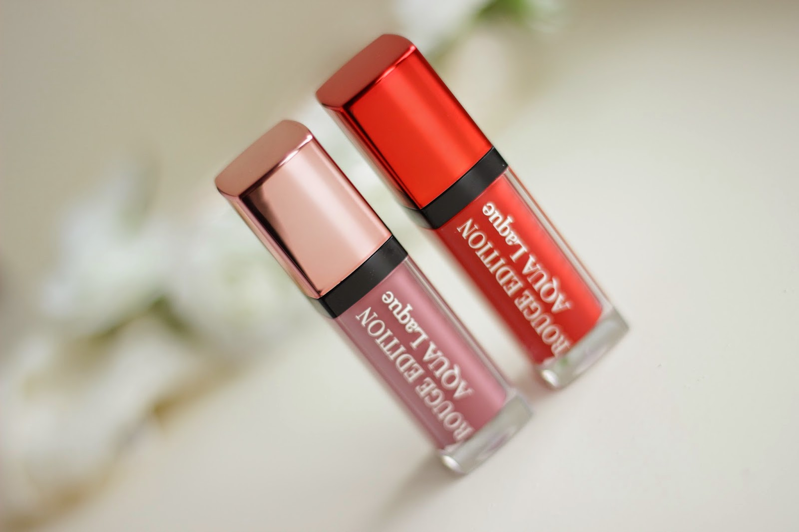 bourjois rouge edition aqua laque review swatches