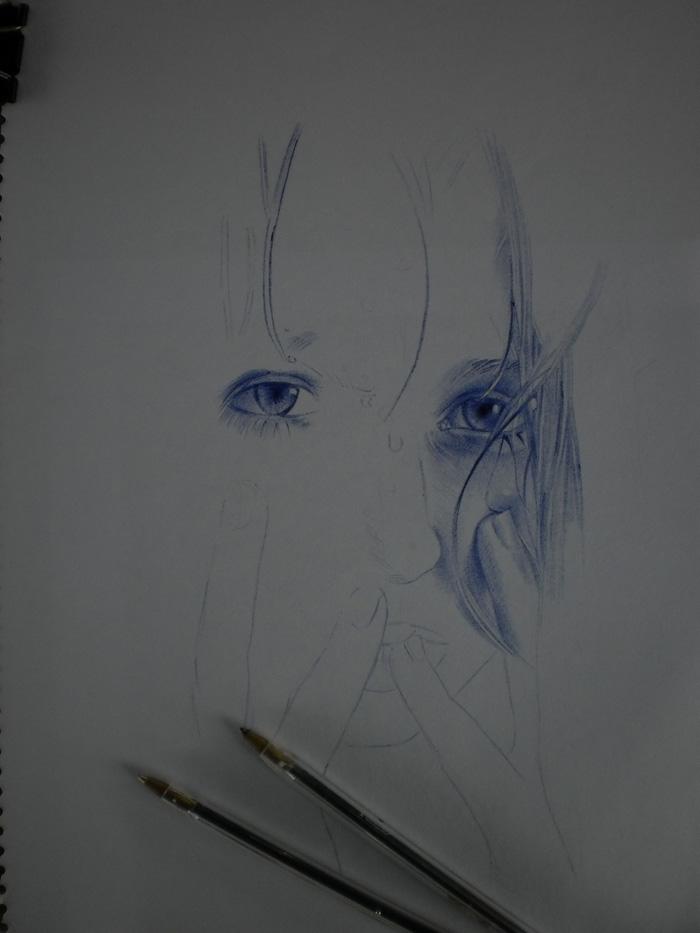 Dibujo con bolígrafo Paso a Paso…