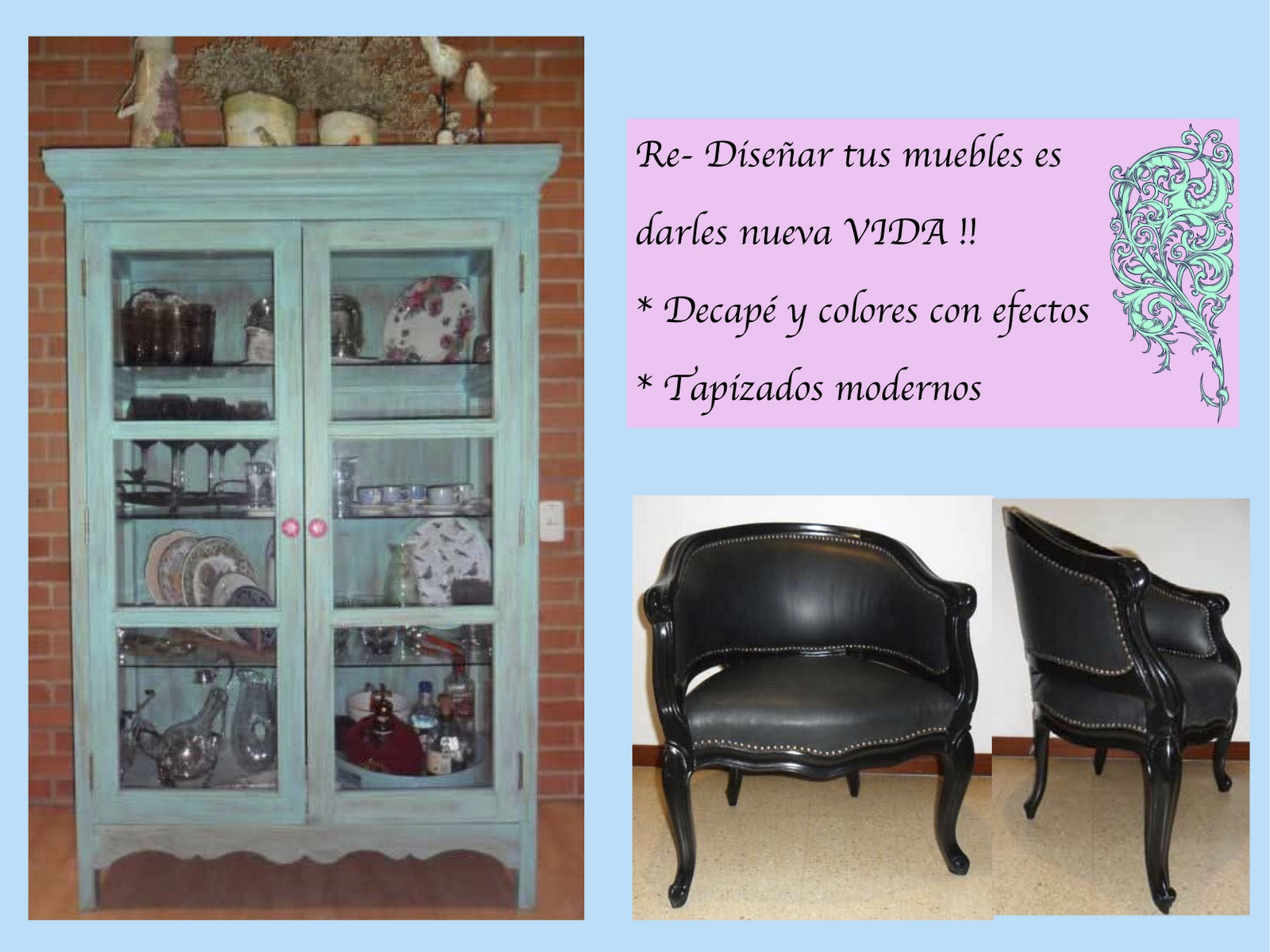 diseño de muebles vintage | ana teresa vega - portafolio stilista. - Muebles De Diseno Vintage
