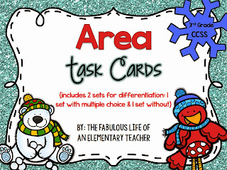 http://www.teacherspayteachers.com/Product/3rd-Grade-Common-Core-AREA-Task-Cards-1008008