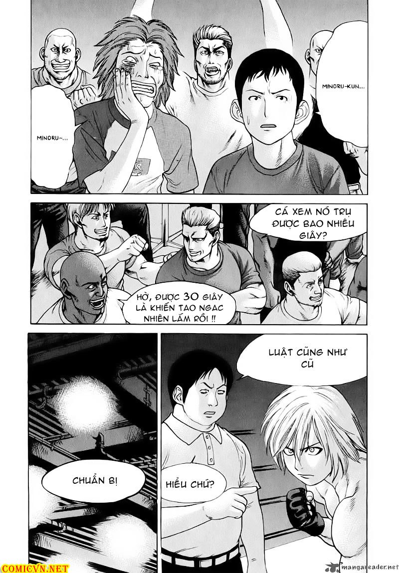 Karate Shoukoushi Kohinata Minoru chap 60 Trang 14