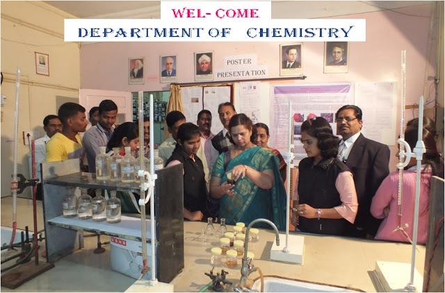 LBS College Chemistry Department Satara