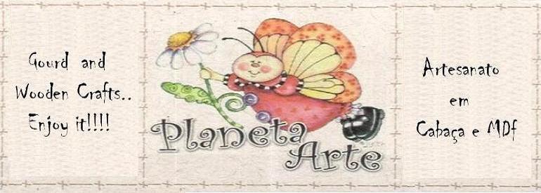 Planeta Arte Atelie - Cabaça e MDF