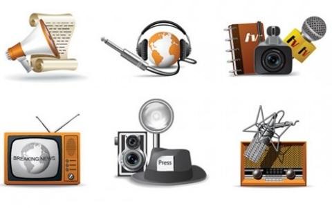 Elementos comunicacion vintage