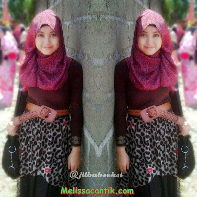 Foto Gaya Berjilbab Modis Cewek Kuliahan Masa Kini Hijab Style Kumpulan Foto Cewek Cantik