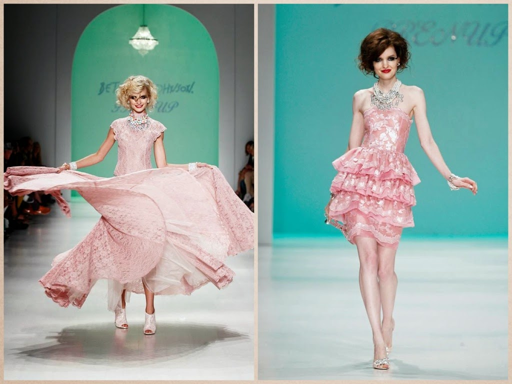 idee abiti cerimonia particolari, sfilata betsey johnson PE 2015, new york fashion week