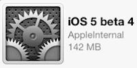 iOS 5 beta 4 for developers