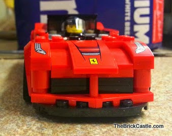 LEGO vehicles Ferrari set 75899 LaFerrari model car font end bonnet