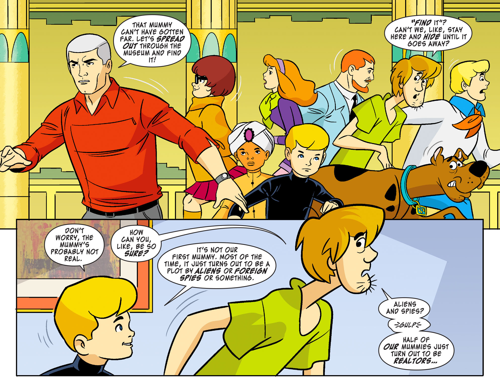 Read online Scooby-Doo! Team-Up comic -  Issue #19 - 9