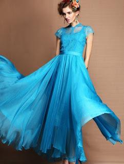 model gaun pesta modern elegan terbaru