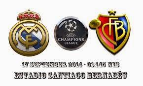 Real Madrid vs Basel