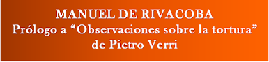"RIVACOBA: Prólogo a ""Observaciones sobre la tortura"", de Pietro VERRI."