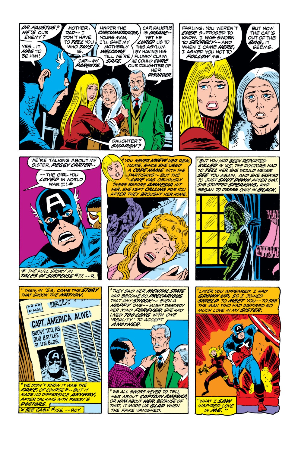 Captain America (1968) Issue #162 #76 - English 14