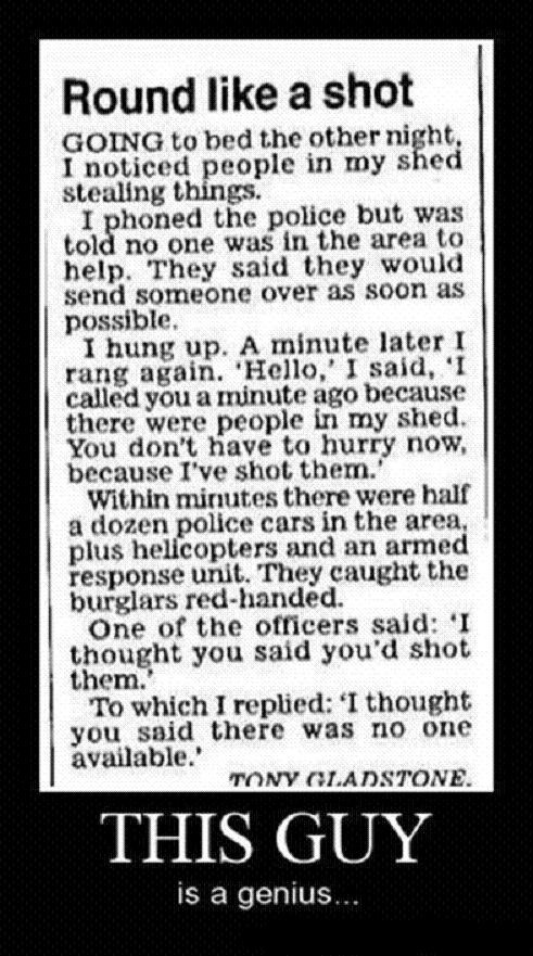 This Guy Is A Genius - Calling The Police Like A Boss